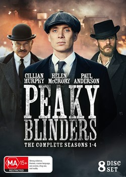 Peaky Blinders: The Complete Series 1-4 (Box Set) [DVD]