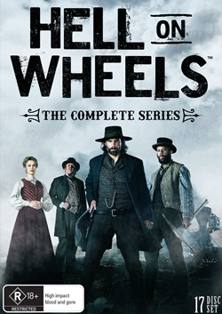Hell On Wheels: Seasons 1-5 (Box Set) [DVD]