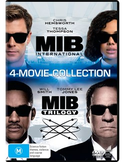 Men in Black 1-4 (Box Set) [DVD]