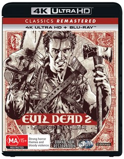 Evil Dead 2 (4K Ultra HD + Blu-ray) [UHD]