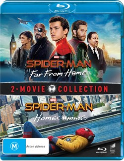 Spider-Man: Homecoming/Far from Home [Blu-ray]