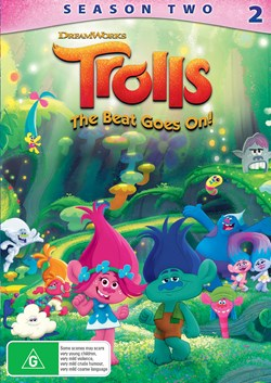 Trolls: The Beat Goes On - Season 2 [DVD]