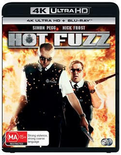 Hot Fuzz (4K Ultra HD + Blu-ray) [UHD]