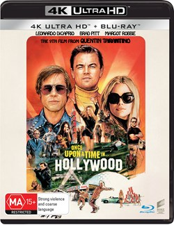 Once Upon a Time In... Hollywood (4K Ultra HD + Blu-ray) [UHD]