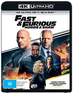 Fast & Furious Presents: Hobbs & Shaw (4K Ultra HD + Blu-ray) [UHD]