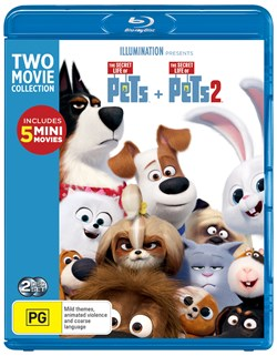 The Secret Life of Pets 1 & 2 [Blu-ray]