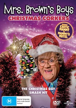 Mrs Brown's Boys: Christmas Corkers [DVD]