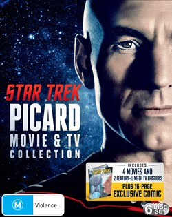Star Trek: Jean-Luc Picard TV and Movie Collection (Box Set) [Blu-ray]