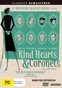 Kind Hearts and Coronets (70th Anniversary Edition) [DVD]
