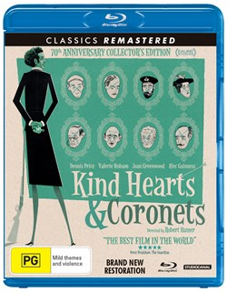 Kind Hearts and Coronets (70th Anniversary Edition) [Blu-ray]