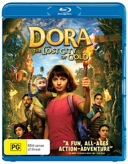 Dora and the Lost City of Gold [Blu-ray]