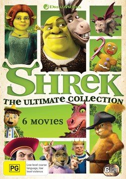 Shrek Collection (Box Set) [DVD]