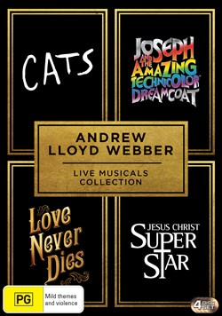 Andrew Lloyd Webber Live Musicals Collection (Box Set) [DVD]