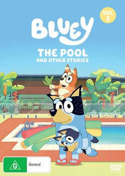 Bluey: Volume 3 - The Pool and Other Stories [DVD]