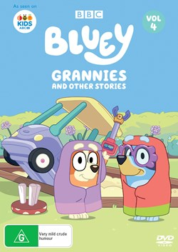 Bluey: Volume 4 - Grannies and Other Stories [DVD]
