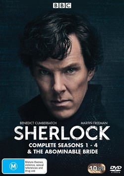 Sherlock: Complete Series 1-4 & the Abominable Bride (Box Set) [DVD]
