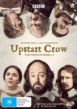 Upstart Crow: The Complete Series 1-3 (Box Set) [DVD]