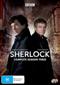 Sherlock: Complete Series Three [DVD]