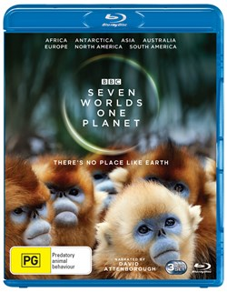 Seven Worlds, One Planet (Box Set) [Blu-ray]