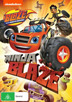 Blaze and the Monster Machines: Ninja Blaze [DVD]