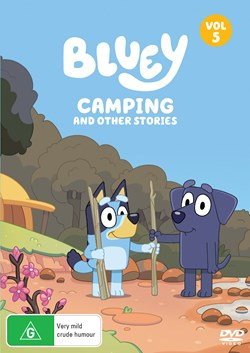Bluey: Volume 5 - Camping and Other Stories [DVD]