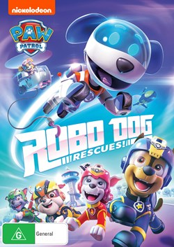 Paw Patrol: Robo Dog Rescues! [DVD]