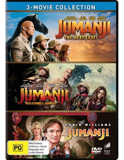 Jumanji/Welcome to the Jungle/The Next Level (Box Set) [DVD]