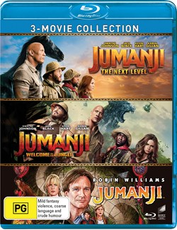 Jumanji/Welcome to the Jungle/The Next Level (Box Set) [Blu-ray]