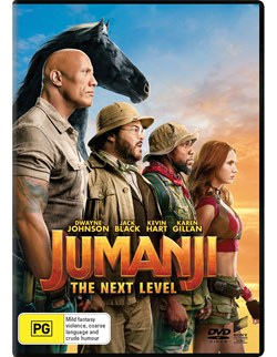 Jumanji: The Next Level [DVD]