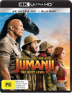 Jumanji: The Next Level (4K Ultra HD + Blu-ray) [UHD]