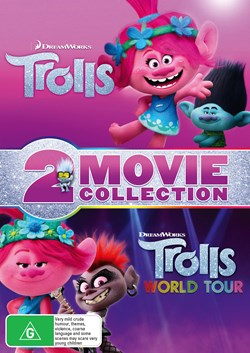 Trolls/Trolls World Tour [DVD]