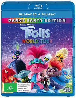 Trolls World Tour (3D Edition with 2D Edition) [Blu-ray]