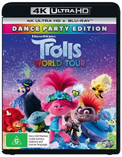 Trolls World Tour (4K Ultra HD + Blu-ray) [UHD]