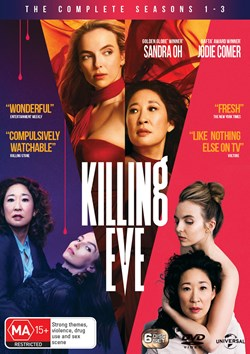 Killing Eve: Season 1-3 (Box Set) [DVD]
