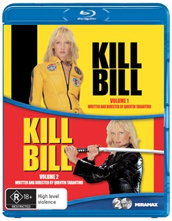 Kill Bill: Volumes 1 and 2 [Blu-ray]