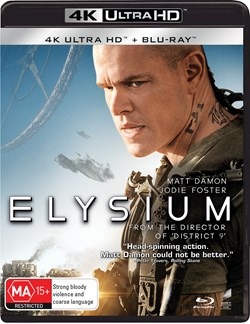 Elysium (4K Ultra HD + Blu-ray) [UHD]