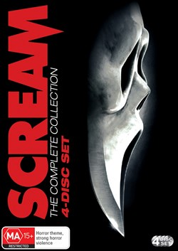Scream 1-4 (Box Set) [DVD]