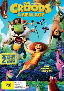 The Croods: A new age [DVD]