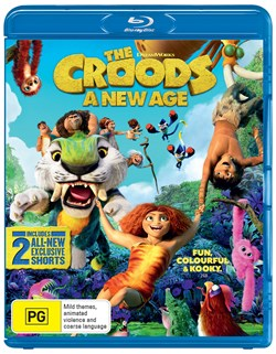 The Croods 2 - A New Age [Blu-ray]