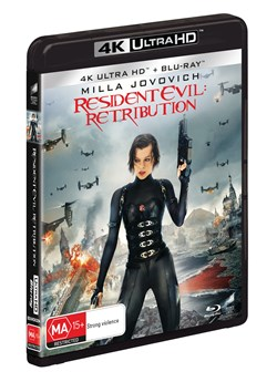 Resident Evil: Retribution (4K Ultra HD + Blu-ray) [UHD]