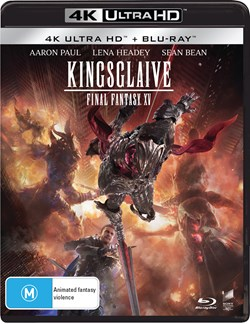 Kingsglaive: Final Fantasy XV (4K Ultra HD + Blu-ray) [UHD]