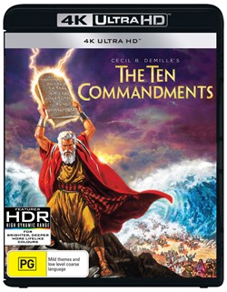The Ten Commandments (4K Ultra HD + Blu-ray) [UHD]