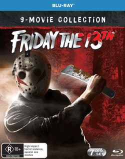 Friday the 13th Collection (Box Set) [Blu-ray] [Blu-ray]