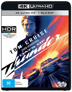 Days of Thunder (4K Ultra HD + Blu-ray) [UHD]