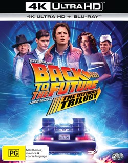 Back to the Future Trilogy (4K Ultra HD + Blu-ray (Boxset)) [Blu-ray] [Blu-ray]