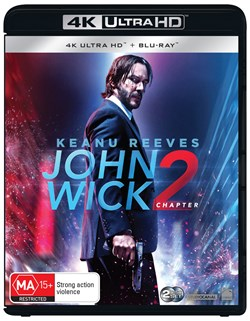 John Wick: Chapter 2 (4K Ultra HD + Blu-ray + Digital Download) [UHD]