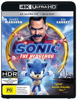 Sonic the Hedgehog (4K Ultra HD + Blu-ray) [UHD]
