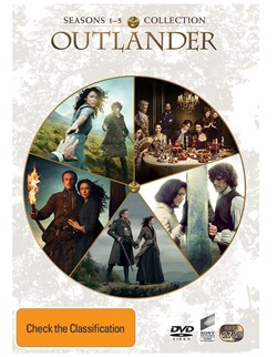 Outlander: Seasons 1-5 (Box Set) [DVD]