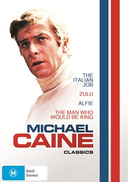 MICHAEL CAINE COLLECTION (ALFIE/ ITALIAN JOB/ MAN WHO WOULD BE KING/ ZULU [DVD]