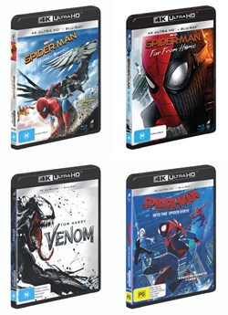 Sony Marvel Universe 4K UHD Bundle [UHD]